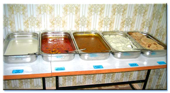 Indian Mess is available in the hostel No. 2 of the Smolensk State Medical University for Indian students.
