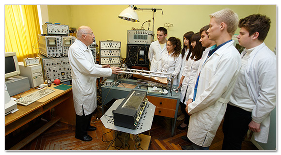 One of research laboratories of the Smolensk State Medical University